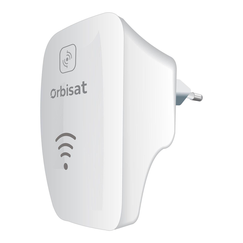 Repetidor Wi-Fi Orbisat Owi-Rp300n Bivolt Automático 300Mbps 2.4 ghz Branco