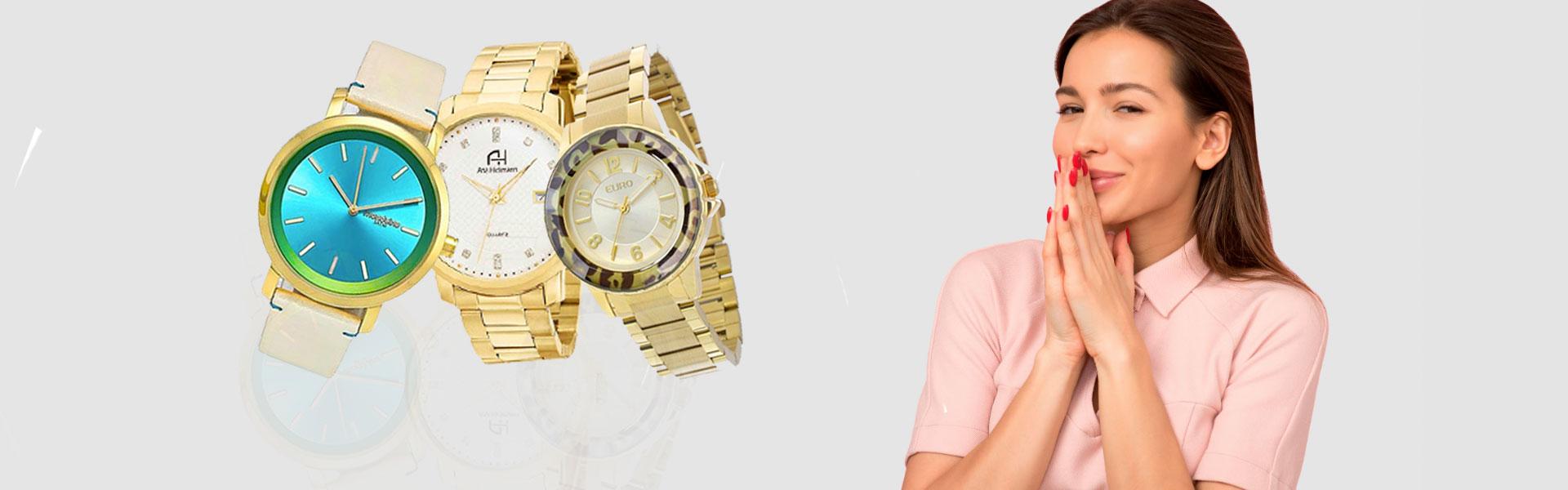 Relógios femininos originais