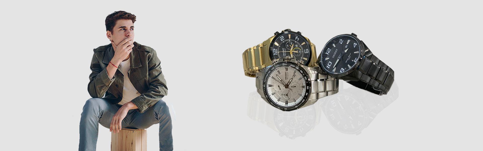 Relógios masculinos originais