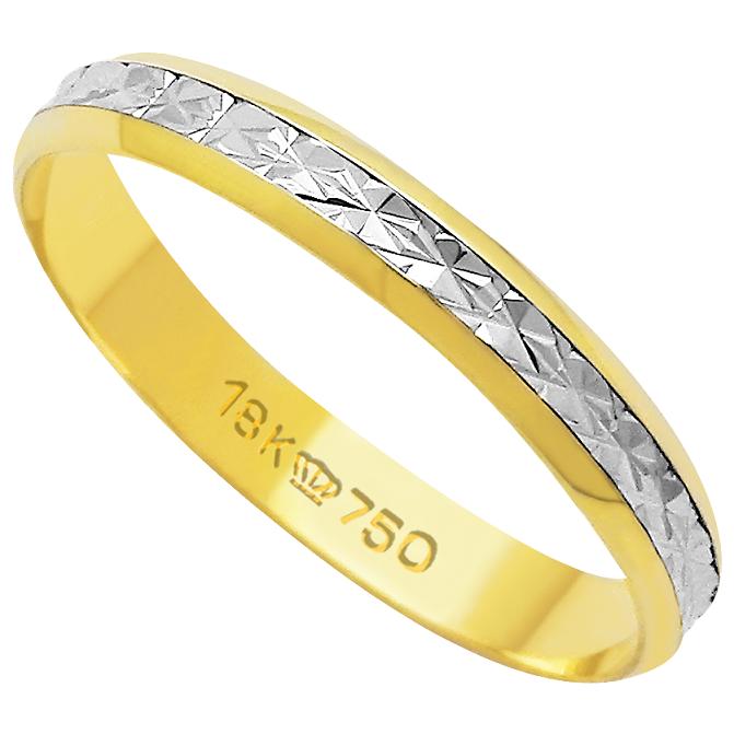 Aliança de Casamento Ouro 18k Lisa DBP47