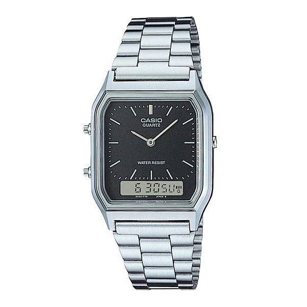 Relógio Casio Vintage AQ-230A-1DMQ Anadigi