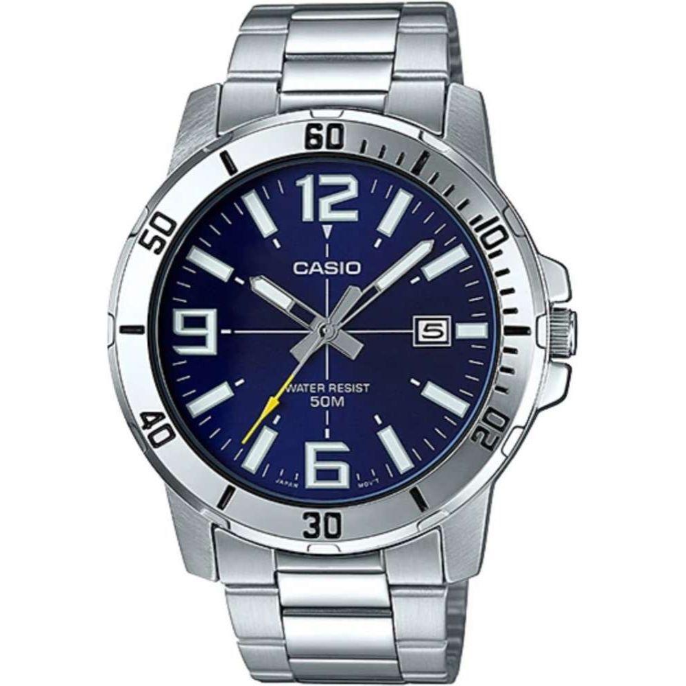 Relógio Casio Analógico Masculino MTP-VD01D-2bvudf