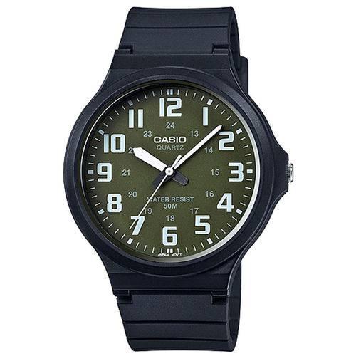 Relógio Casio Analógico MW-240-3bvdf