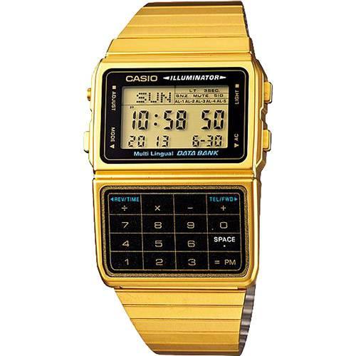 Relógio Casio Databank DBC-611G-1DF