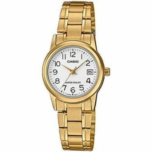 Relógio Casio Feminino Analógico LTP-V002G-7B2UDF