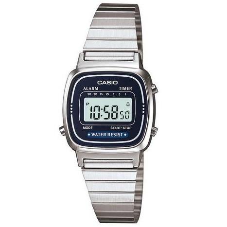 Relógio Casio Feminino Digital Vintage LA670WA-2DF