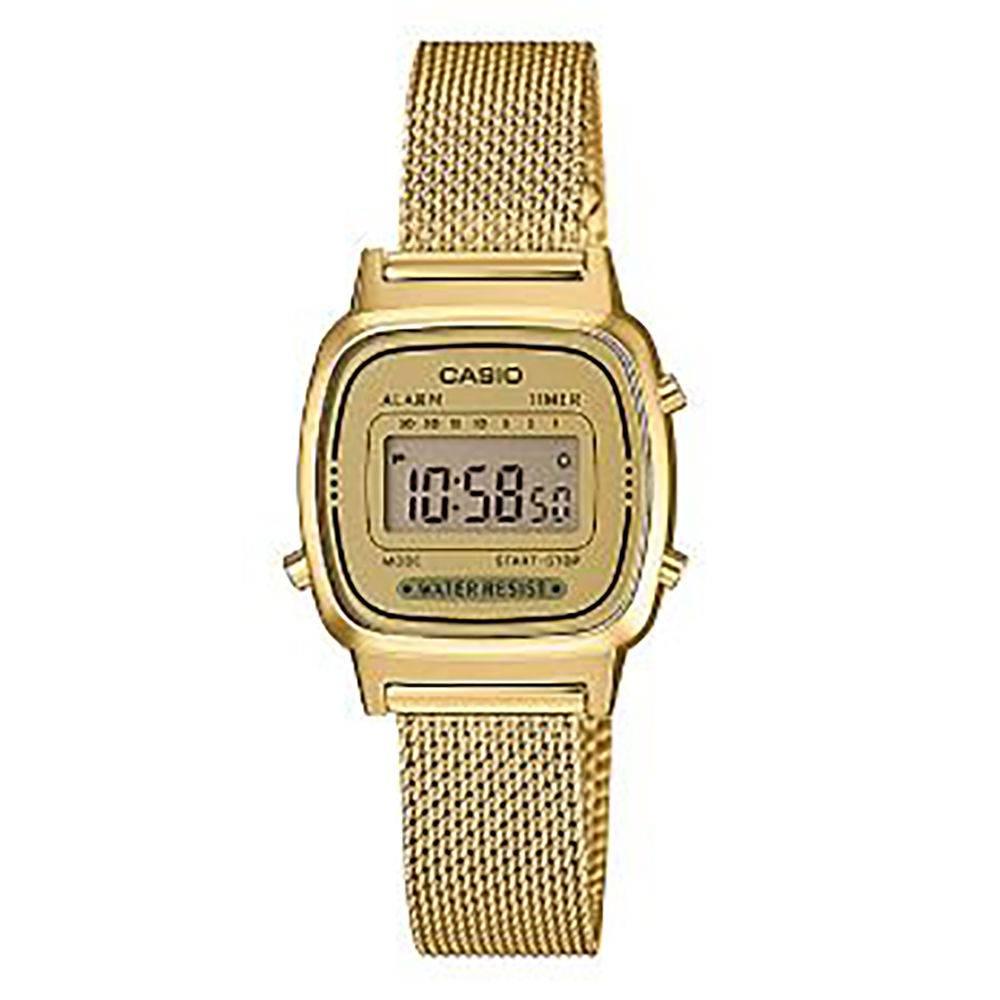 Relógio Casio Feminino Digital Vintage LA670WEMY-9DF