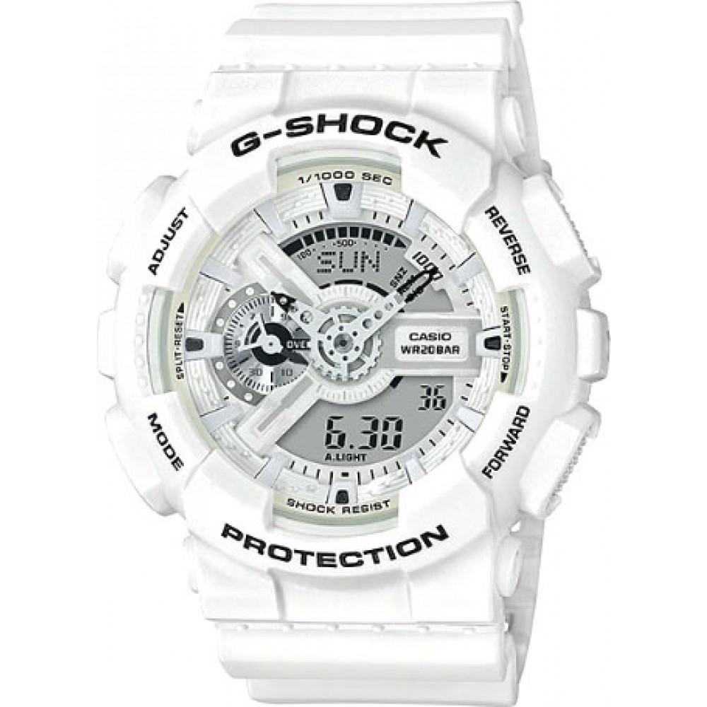 Relógio Casio G-shock Masculino Anadigi Ga-110mw-7adr
