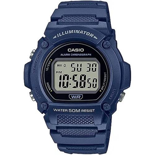 Relógio Casio Illuminator Masculino Azul W-219H-2AVDF