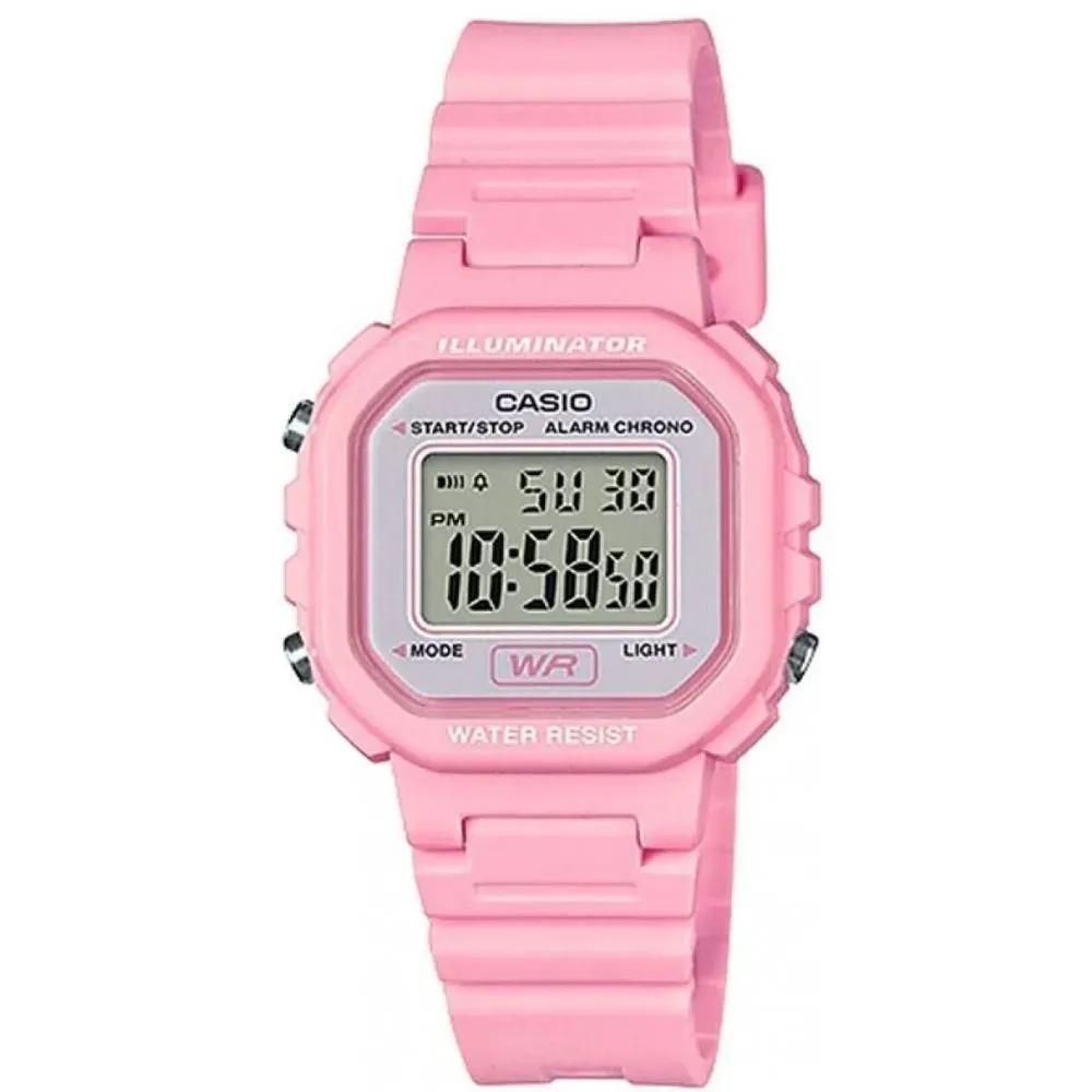 Relógio Casio Infantil Digital Standard Rosa LA-20WH-4A1DF