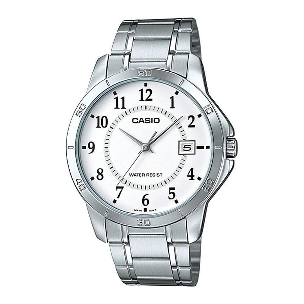 Relógio Casio Masculino Analógico Prata MTP-V004D-7BUDF
