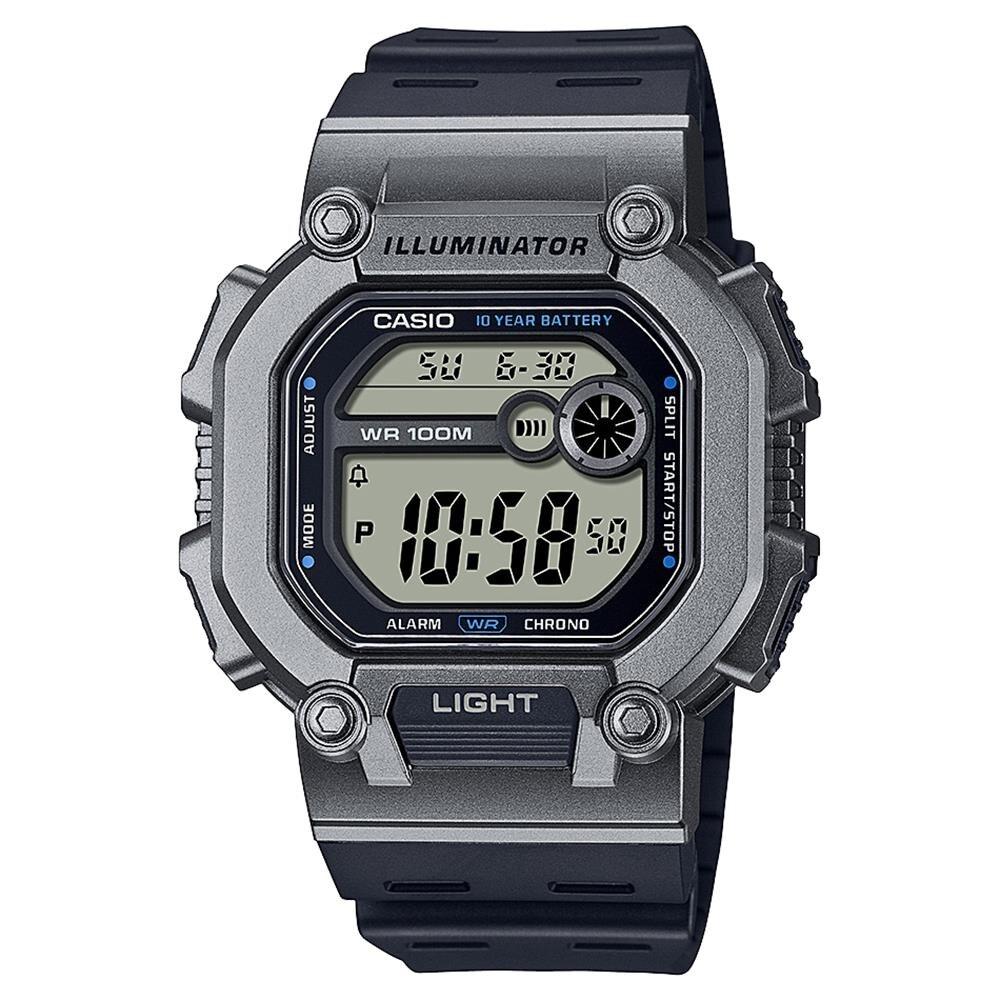 Relógio Casio Masculino Standard Quadrado W-737h-1a2vdf