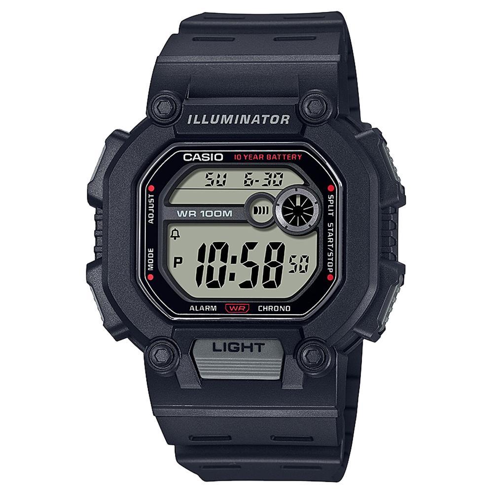 Relógio Casio Masculino Standard Quadrado W-737h-1avdf