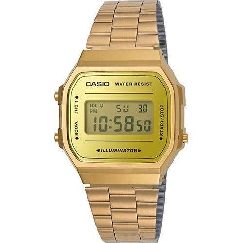 Relógio Casio Vintage A168WEGM-9DF