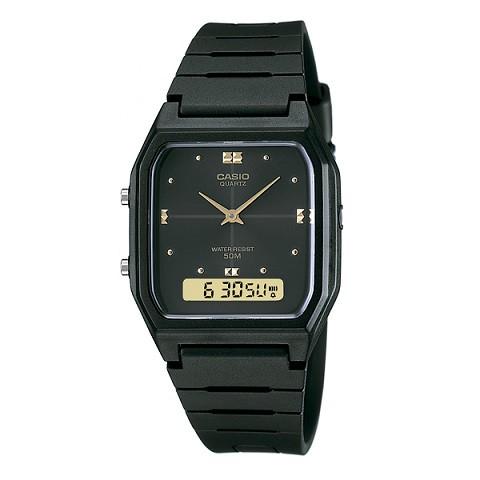 Relógio Casio Vintage Anadigi AW-48HE-1AVDF