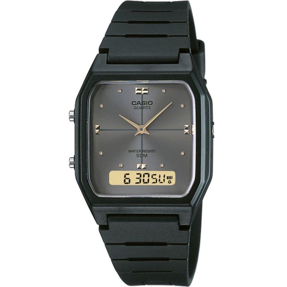 Relógio Casio Vintage Anadigi AW-48HE-8AVDF