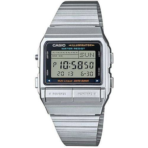 Relógio Casio Vintage Data Bank DB-380-1DF