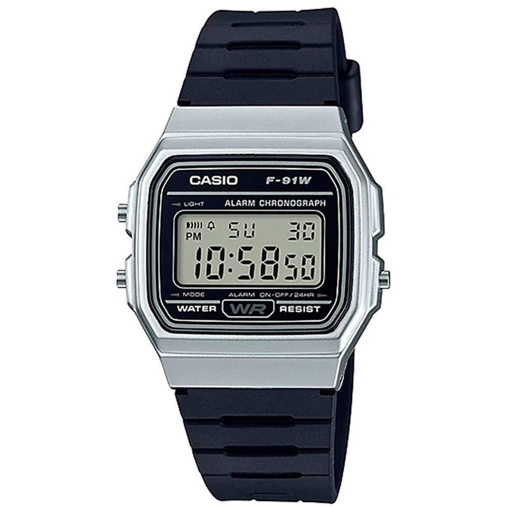 Relógio Casio Vintage f-91wm-7adf