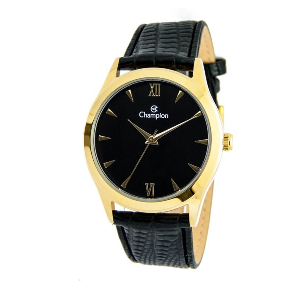 Relógio Champion Couro Masculino Ch22742p