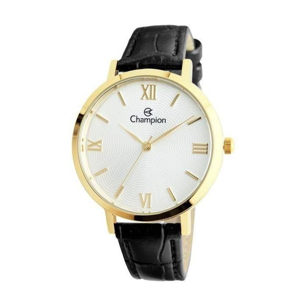 Relógio Champion Feminino Cn24182b Dourado