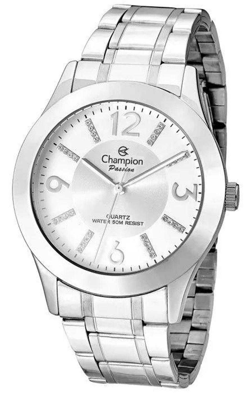 Relógio Champion Feminino CN29418Q Prateado
