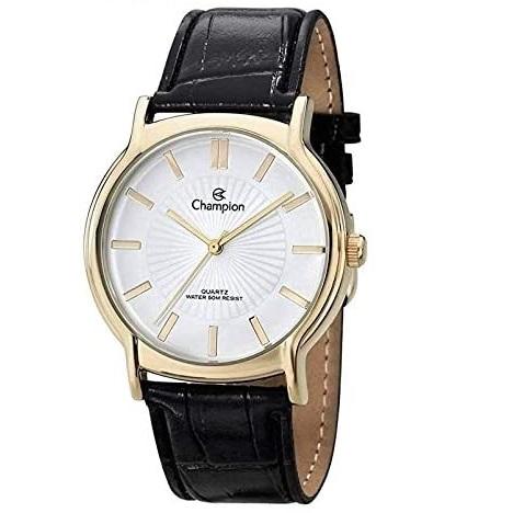 Relógio Champion Feminino Couro CH22680W