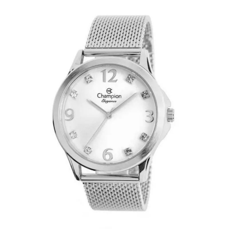 Relógio Champion Feminino Prata CN24093Q
