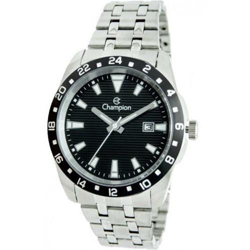 Relógio Champion Masculino Prateado Ca31471
