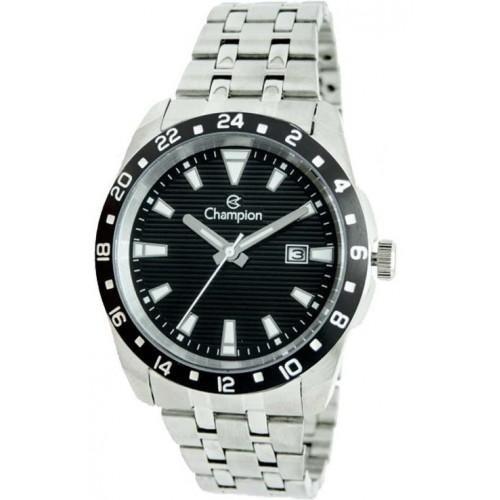 Relógio Champion Masculino Prateado Ca31471X