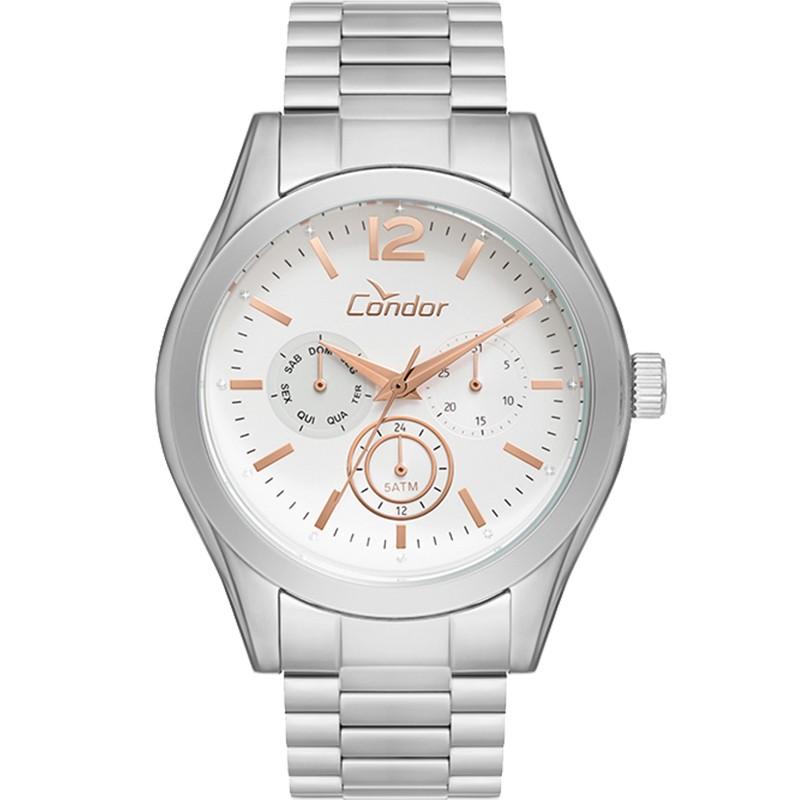 Relógio Condor Feminino Prata Co6P29Ie/3K