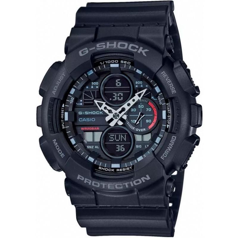 Relógio de Pulso Casio G-Shock Masculino Preto Digital GA-140-1A1DR