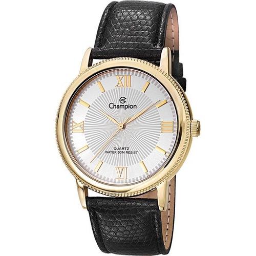 Relógio Feminino Champion Couro Social Ch22797h
