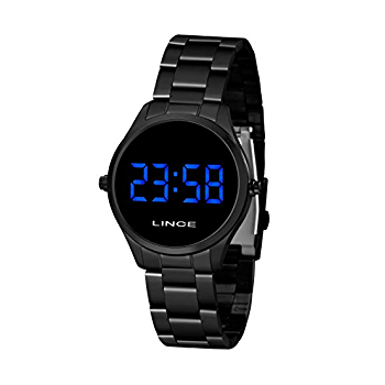 Relógio Feminino Digital Led Lince MDN4617L DXPX