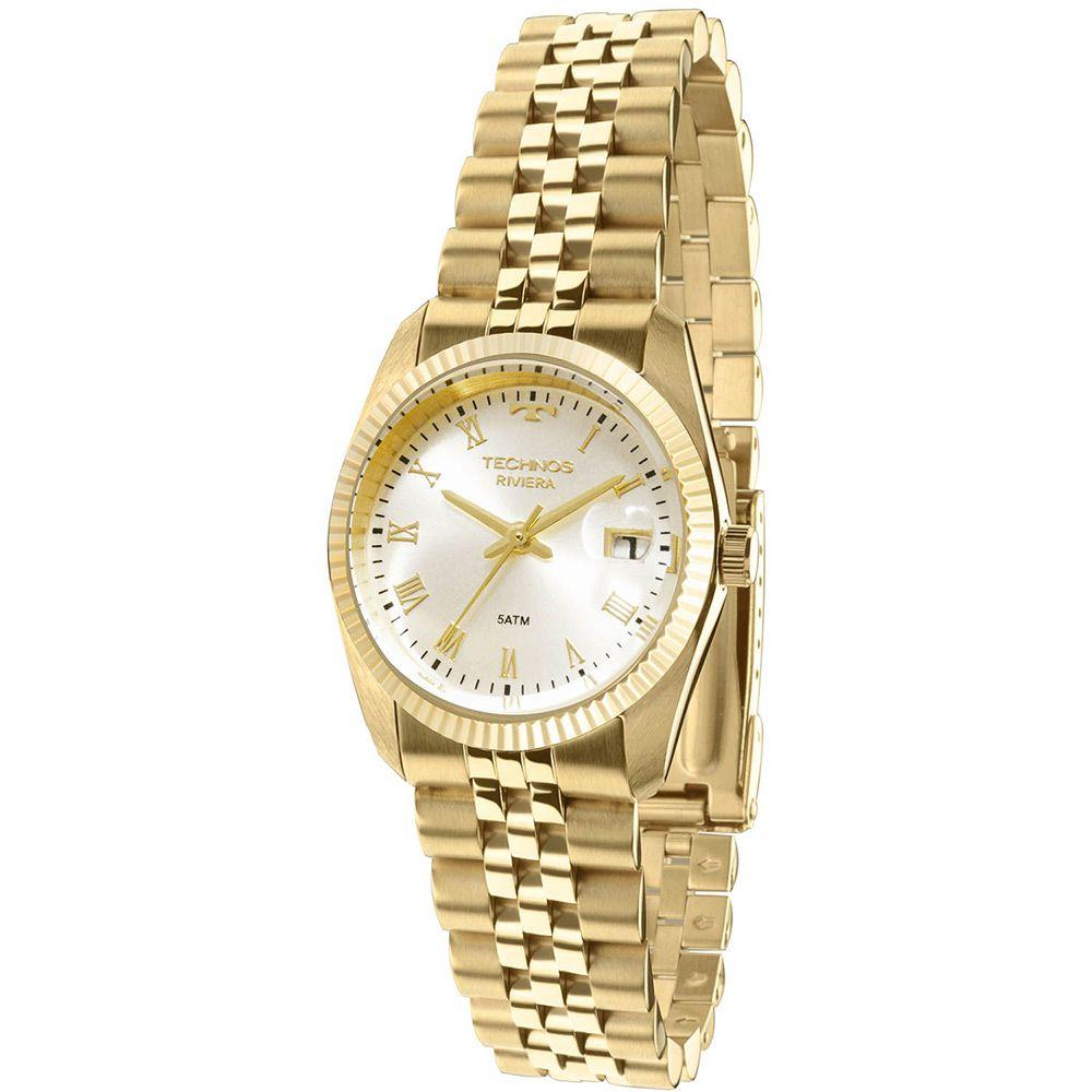 Relógio Feminino Technos Analógico Riviera GL10HY/4X