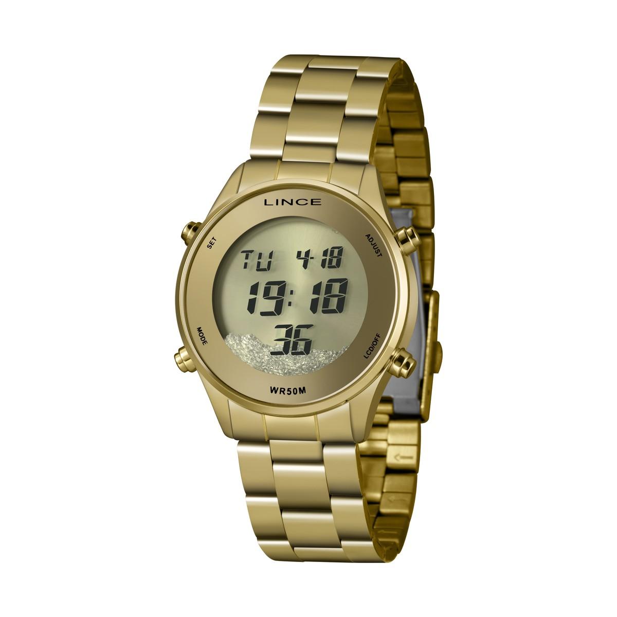 Relógio Lince Feminino Digital 8DG4638L CXKX
