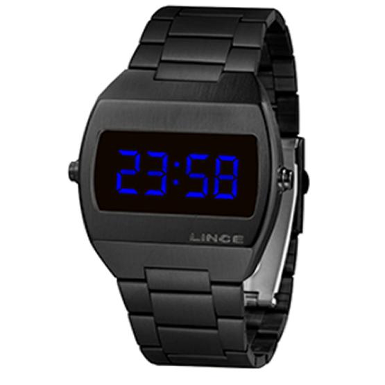 Relógio Lince LED Digital Unissex MDN4621L DXPX Preto