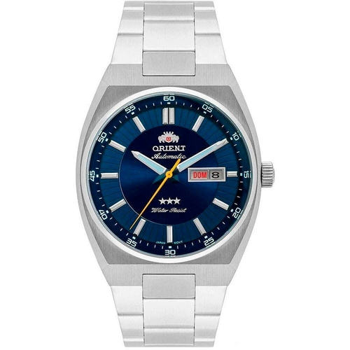 Relógio Masculino Orient Automático 469SS087F D1SX Prata