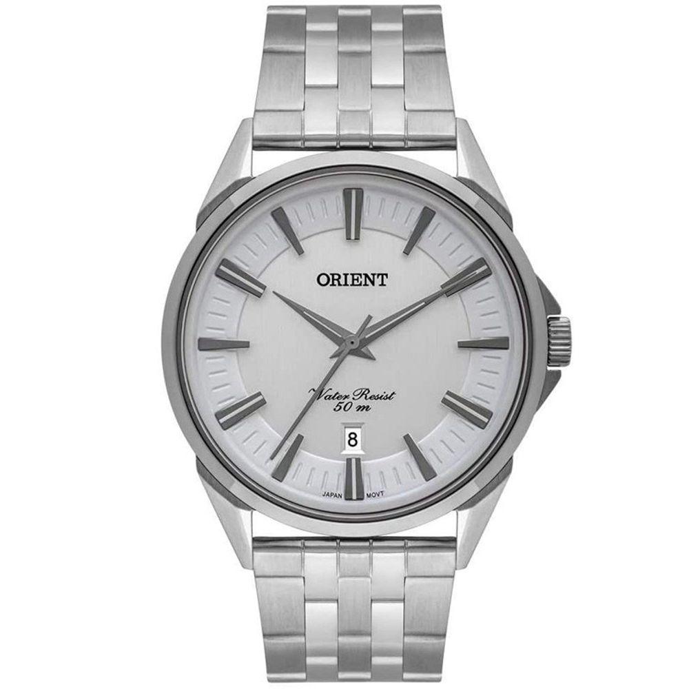 Relógio Masculino Orient Eternal Prata MBSS1371-S1SX