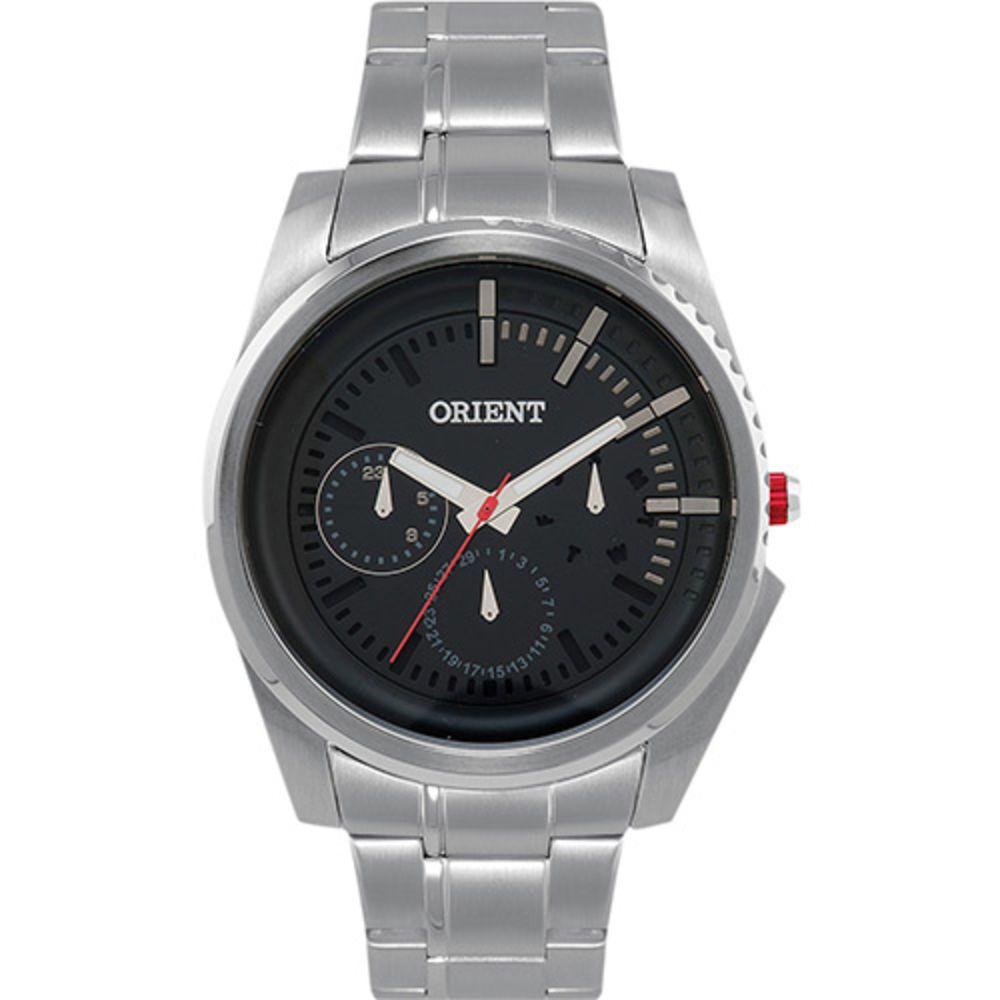 Relógio Masculino Orient Multifunção Prata Mbssm045 P1sx