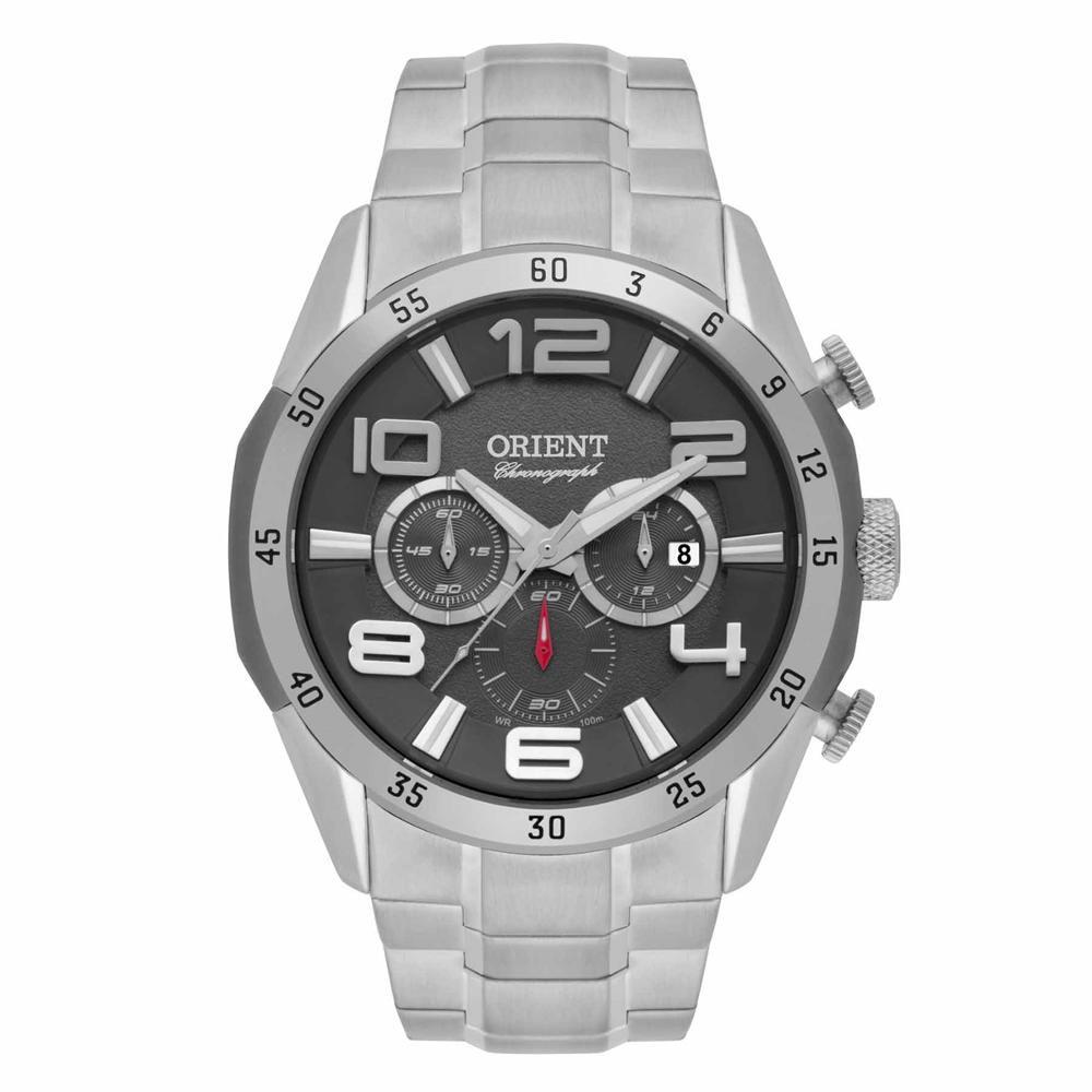 Relógio Orient Cronógrafo Analógico Masculino Mbssc159 G2sx