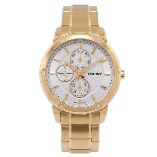 Relógio Orient Feminino Multifunção Dourado FGSSM036 S1KX