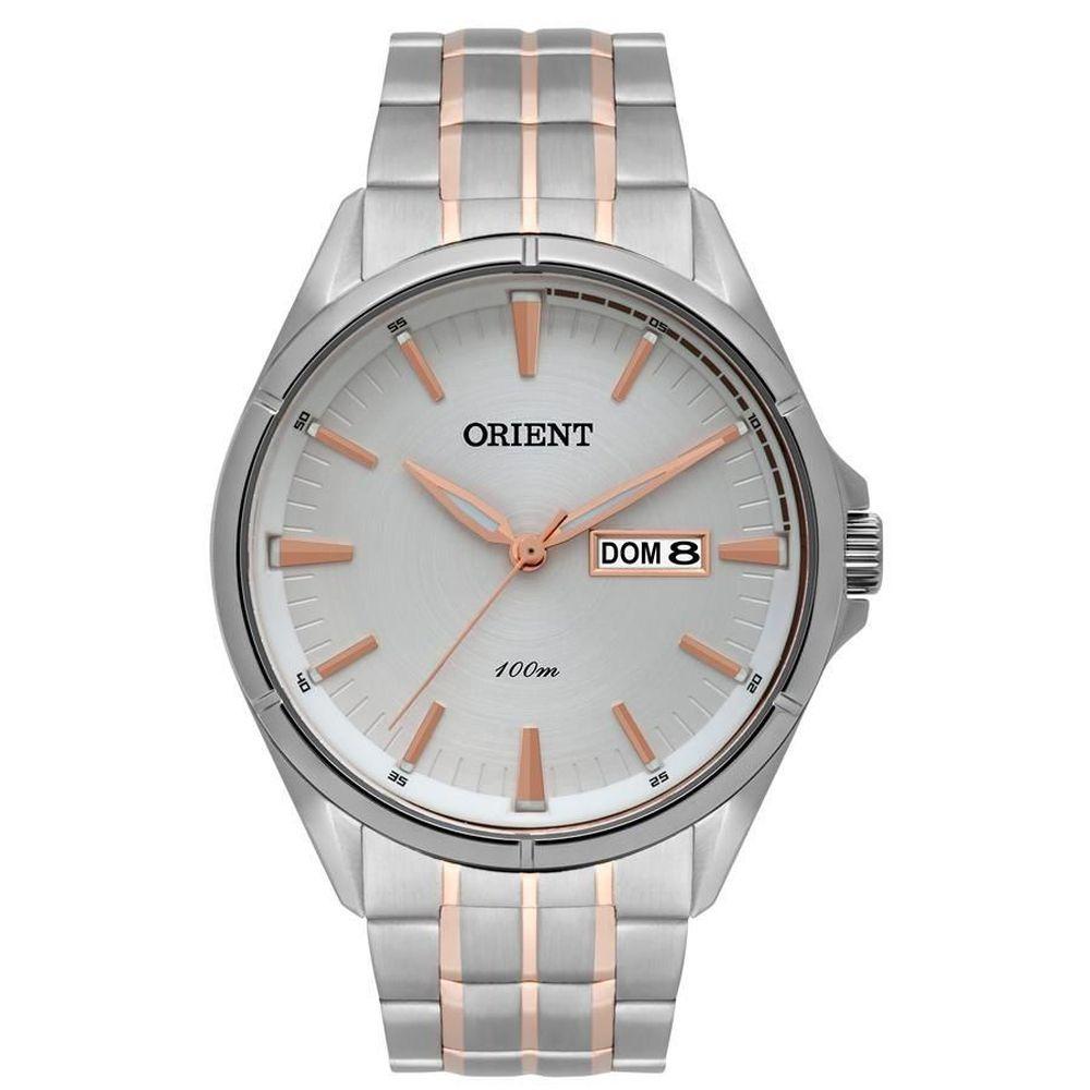 Relógio Orient Masculino Aço Misto Mtss2006 S1sr