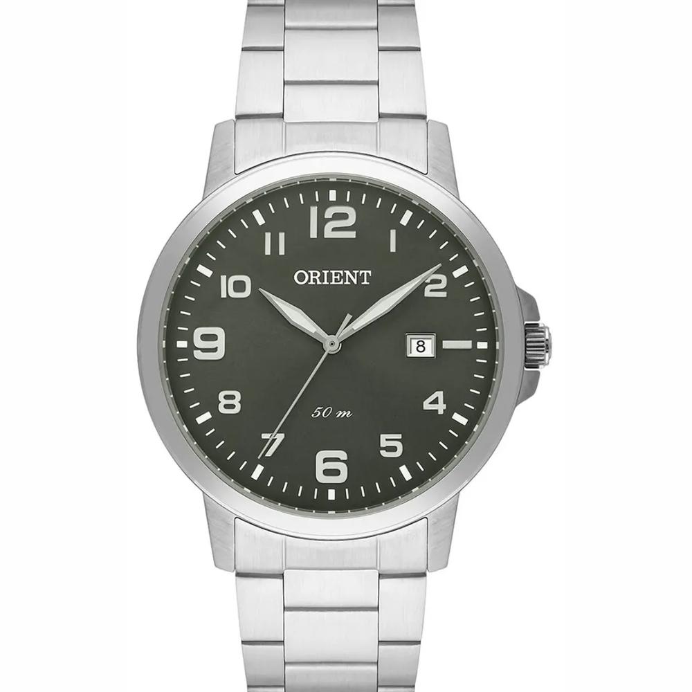 Relógio Orient Masculino Analógico Prata Mbss1373 E2sx