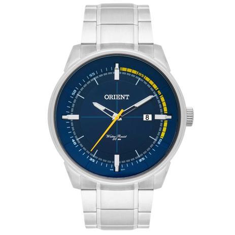 Relógio Orient Masculino Classico Prata MBSS1295-D1SX
