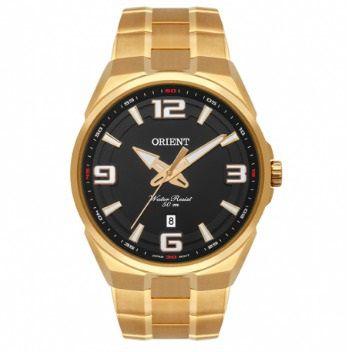 Relógio Orient Masculino Dourado MGSS1162 P2KX