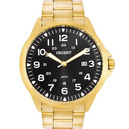 Relógio Orient Masculino Dourado MGSS1199 P2KX