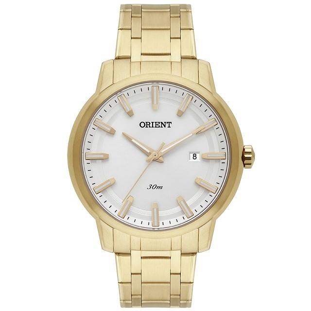 Relógio Orient Masculino Eternal Dourado MGSS1190-S1KX