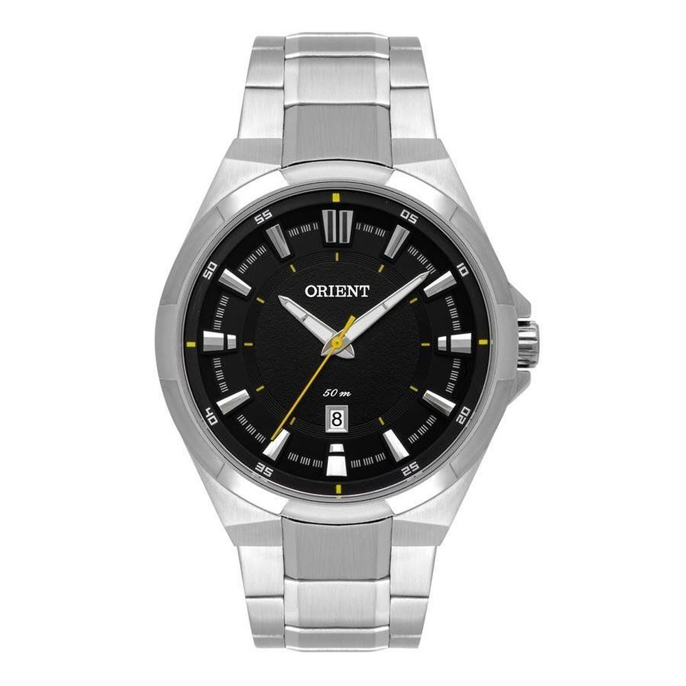 Relógio Orient Masculino Mbss1349 P1sx Casual Prateado