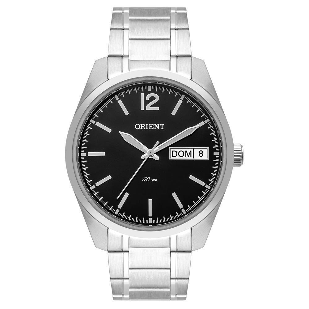Relógio Orient Masculino Mbss2025 G2sx Social Prateado