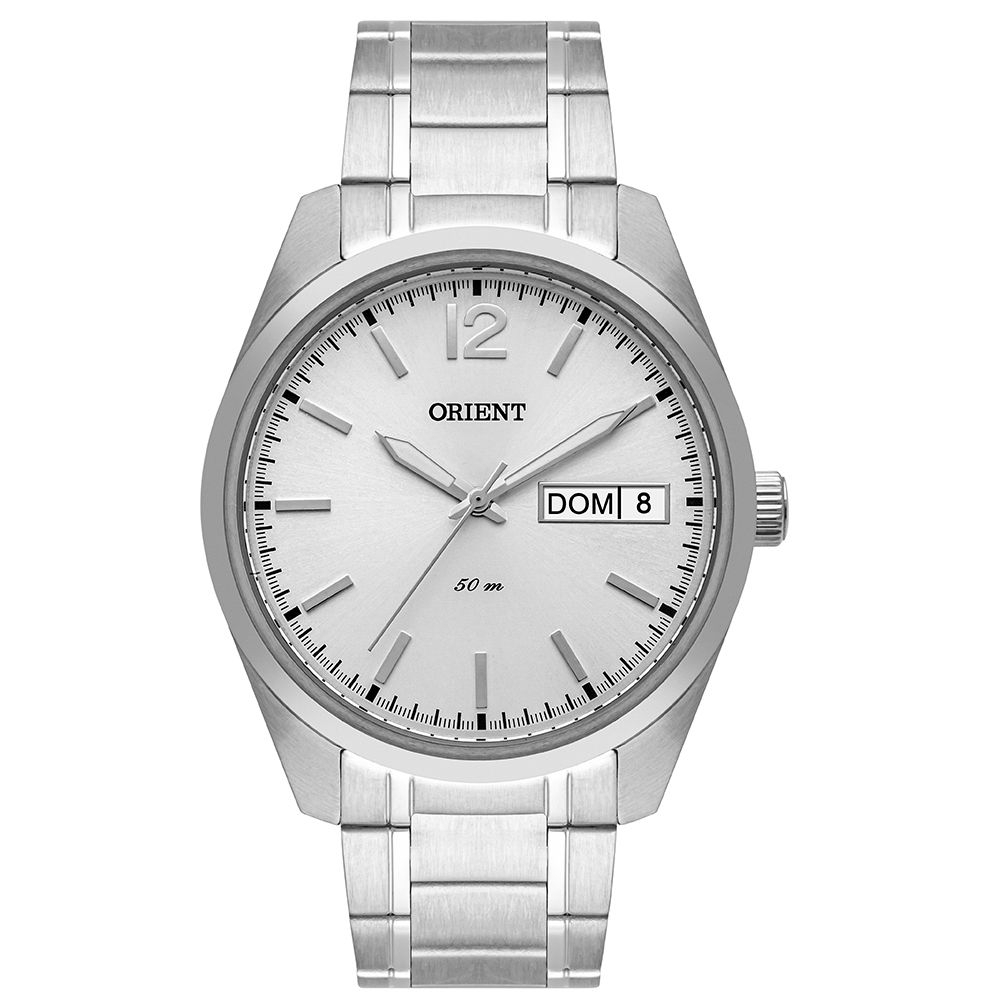 Relógio Orient Masculino Mbss2025 S2sx Social Prateado